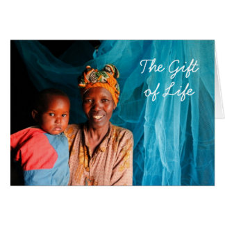 Give the Gift of Life - Give A Mos... - Customized Card