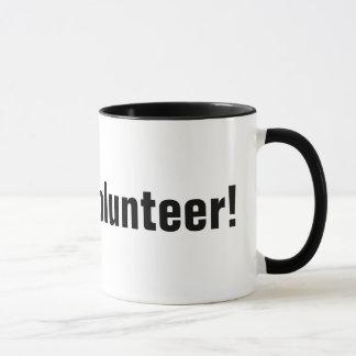 Give the world a helping hand and volunteer mug