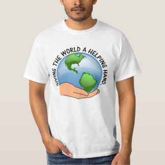 Give the world a helping hand and volunteer T-Shirt