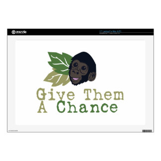 Give Them A Chance Laptop Skin