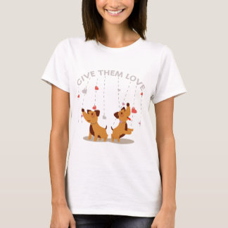 Give Them Love Women's T-shirts
