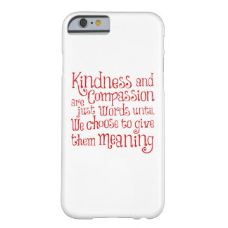 GIVE THEM MEANING BARELY THERE iPhone 6 CASE