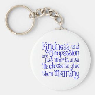 GIVE THEM MEANING BASIC ROUND BUTTON KEYCHAIN