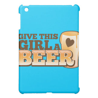 GIVE THIS GIRL A BEER design from The Beer Shop iPad Mini Cover