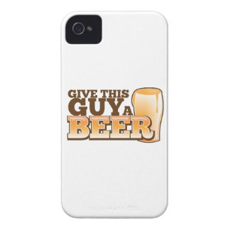 Give this Guy a Beer ND iPhone 4 Cases