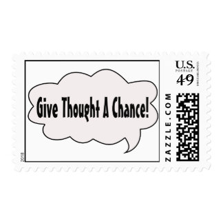 Give Thought Stamp