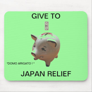 GIVE TO JAPAN RELIEF MOUSE PAD