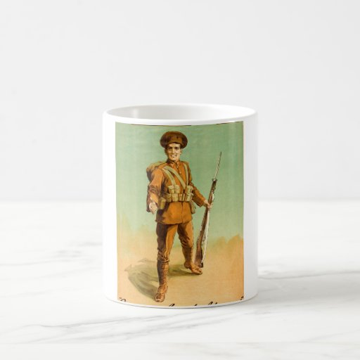 Give us a hand old man_Propaganda Poster Coffee Mug
