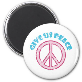 Give Us Peace 2 Inch Round Magnet