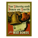 Give War Bonds ~ Vintage WW2 Poster