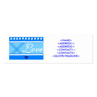 GIVE WITH LOVE ! BUSINESS CARDS