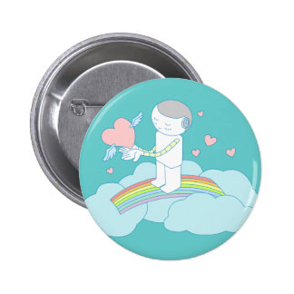 Give You My Love Doodle Art Button