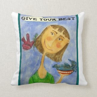 Give your best throw pillow