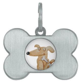 Give your dog a proper portrait pet tag