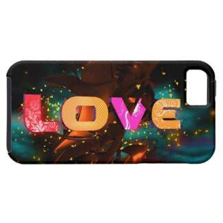 Give your LOVE iPhone some with this colorful 3D-D iPhone 5 Carcasas