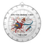 Give Your Neurons A Rest Take a Nap Neuron Synapse Dart Boards