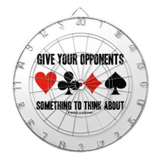 Give Your Opponents Something To Think About Dartboards