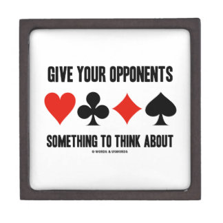 Give Your Opponents Something To Think About Gift Box