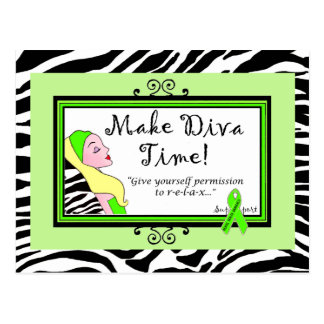 Give Yourself Permission to Relax! DivaLime Cards