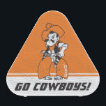 """GIVEAWAY OSU Pistol Pete Bluetooth Speaker<br><div class=""""desc"""">Check out these official Oklahoma State University products! Personalize your own OSU Cowboy merchandise on Zazzle.com. These products are perfect for the OSU student,  alumni,  or fan in your life.</div>"""