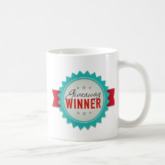 Giveaway Winner Coffee Mug