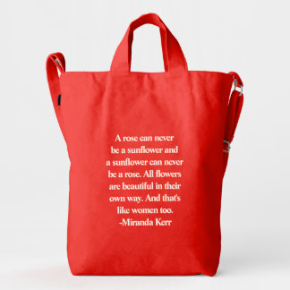 #GiveCourage: Be you Duck Bag