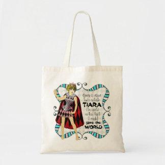 Given a Suitable Tiara Tote Bag