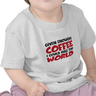Given enough i coffee could rule the world