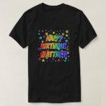 "[ Thumbnail: Given Name ""Matthew"", Fun ""Happy Birthday"" T-Shirt ]"