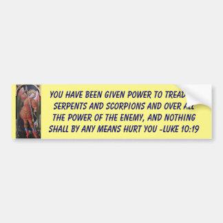 given power  bumper sticker