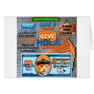 GiveNOLA Day 2016 Card
