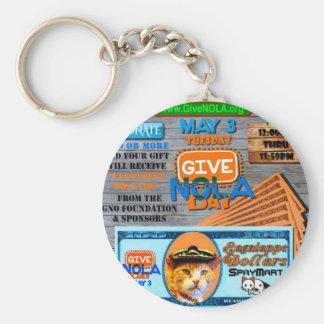 GiveNOLA Day 2016 Keychain