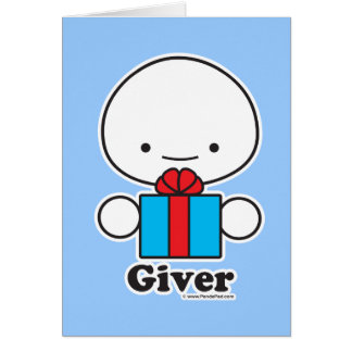 Giver Card