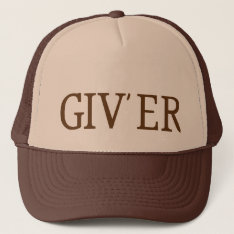 Giv'er Trucker Hat at Zazzle