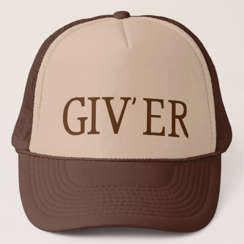 Giver Trucker Hat