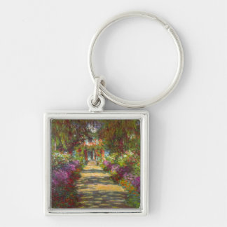 Giverny by Claude Monet Key Chain