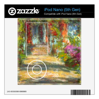 Giverny by Claude Monet Decals For iPod Nano 5G