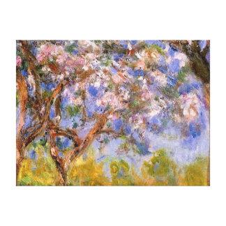 Giverny en primavera impresiones en lona