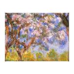 Giverny en primavera lona estirada galerias