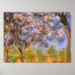 Giverny en primavera poster