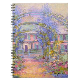 Giverny Garden Lined Journal