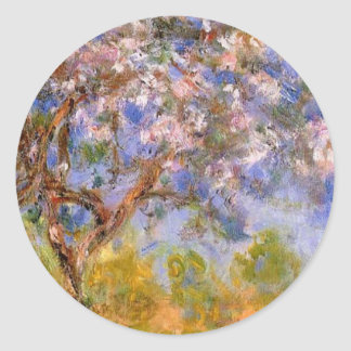 Giverny in Springtime Classic Round Sticker