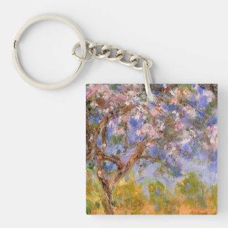 Giverny in Springtime Keychain