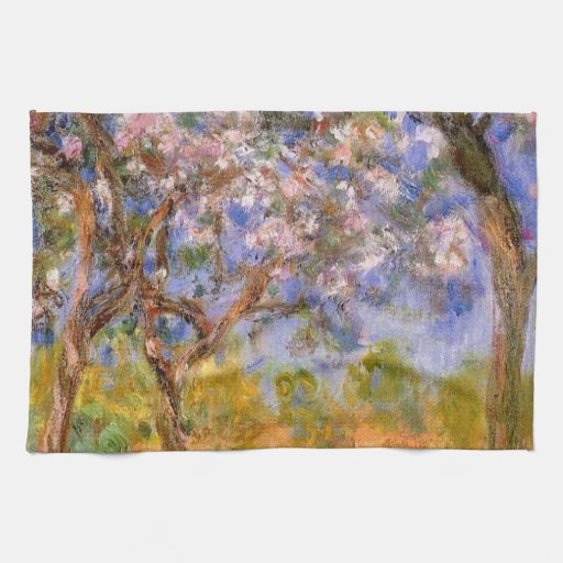 Giverny in Springtime Kitchen Towels