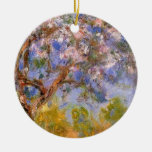 Giverny in Springtime Double-Sided Ceramic Round Christmas Ornament