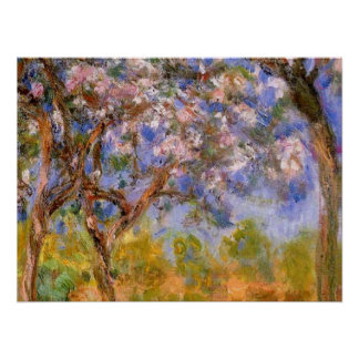 Giverny in Springtime Posters