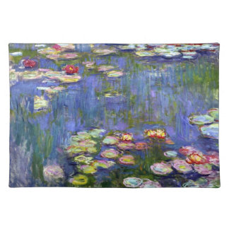 Giverny Water Lily Pond Cloth Placemat