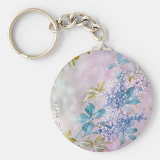 Giverny Yellow flowers Key Chain