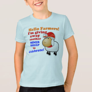 """Giving Away Another Miner Sheep"" Game T-Shirt"