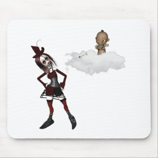 giving cupid attitude punk anti vday mouse pad